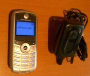 Motorola C123, schwarz/
