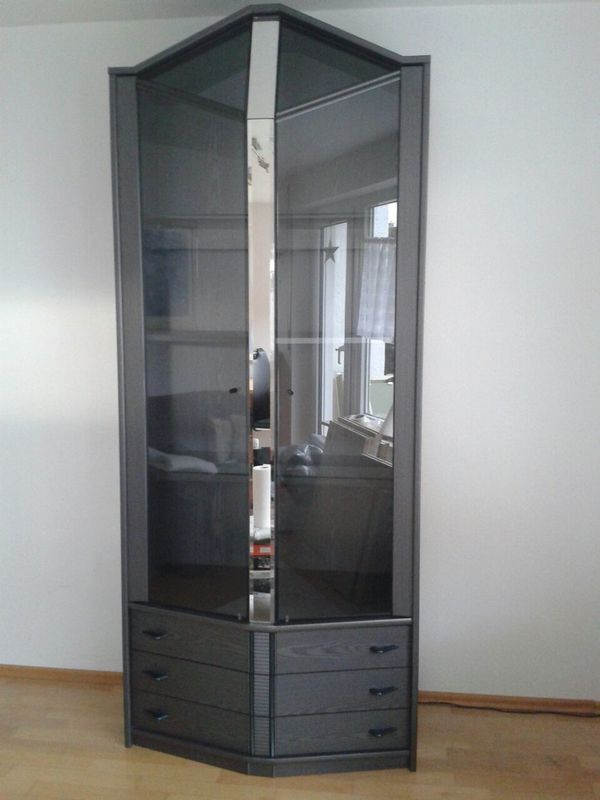 glasvitrine kaufen oliver furniture glasvitrine hoch wei. Black Bedroom Furniture Sets. Home Design Ideas
