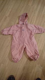 Schneeanzug rosa - Gr 80 - Einteiler