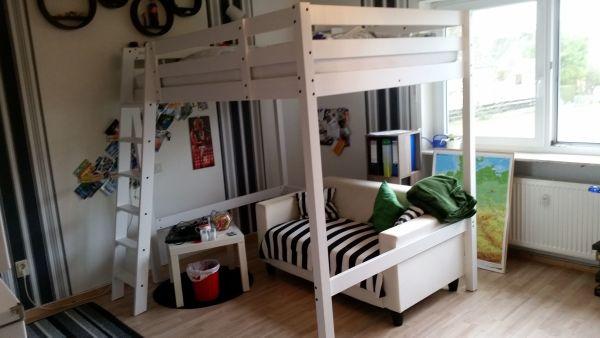Ikea Hochbett günstig gebraucht kaufen - Ikea Hochbett verkaufen ... | {Kinderhochbett ikea 65}