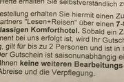 Hotel Hotelgutschein Lesenplusreisen