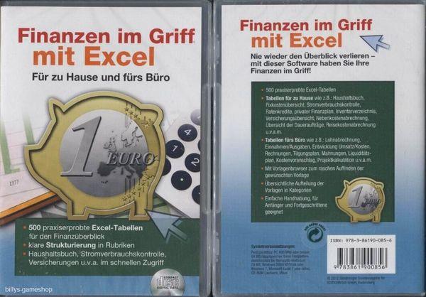 Finanzen Im Griff Mit Excel Für Zu Hause Und Fürs Büro 500
