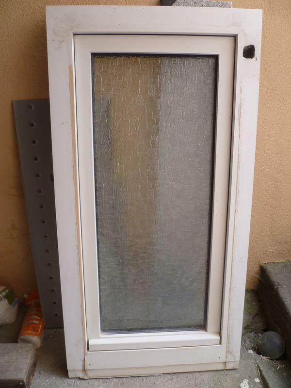 Fenster , weiss - Lampertheim Hofheim - Doppelglasfenster,bad glas,höhe 110 cm,breite 58 cm,fenstergriff innen links, - Lampertheim Hofheim