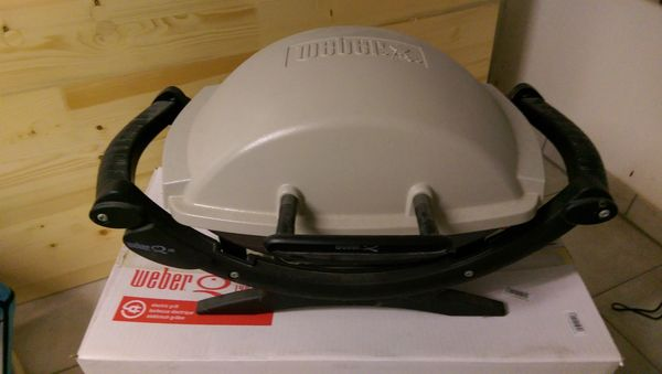 Weber Elektrogrill Innen : Weber elektrogrill q140 in bammental küchenherde grill