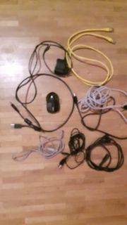Diverse PC-Kabel/