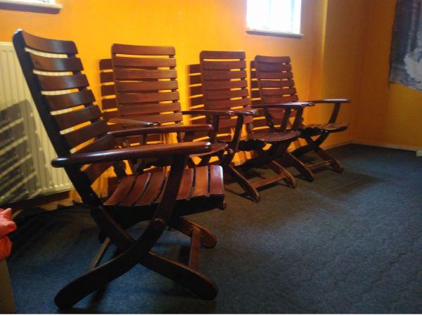 Original Herlag Gartenmöbel 4 Stühle in Albersweiler   kaufen und