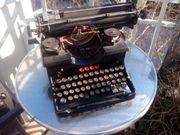 Alte Torpedo 6 Schreibmaschine
