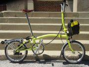 Brompton Faltrad 2014 H6r gelber
