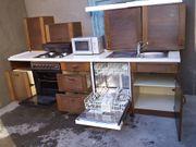 NOBILIA Holz-Küche Einbauküche 6 E-Geräte