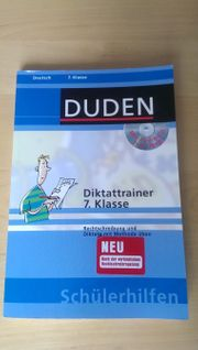 Diktattrainer 7 Klasse mit CD