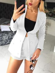 Fashion Beading Blazer