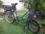 Fahrrad, Lastenfahrrad, Bäckerrad
