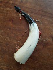 Jagdhorn aus echtem Horn