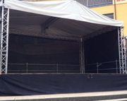 Bühne für Dorffest