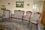 italienische Stilmöbel 3 Sessel und