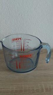 Meßbecher 1l Glas PYREX