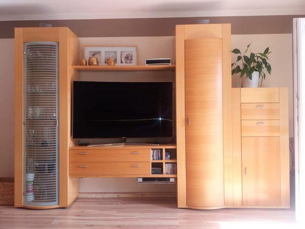 Moderne Wohnwand Schrankwand