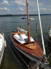 Wunderschöner 20er Jollenkreuzer Segelyacht Segelboot