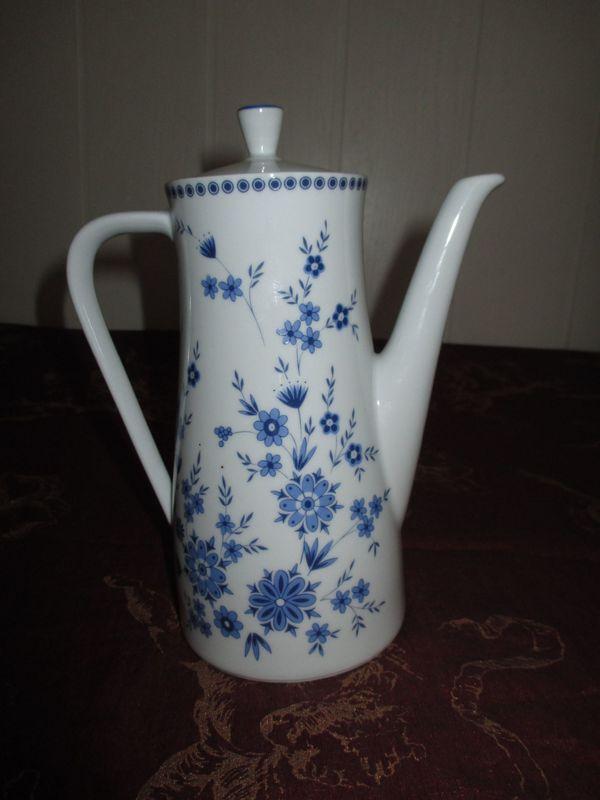 Kaffeekanne Seltmann Weiden Bayrisch-Blau