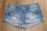 Jeans-Hotpants (Gr.