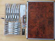 Messerset Profiline Messerkoffer Besteck mit