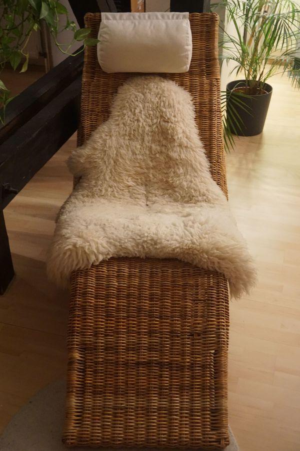 liegestuhl rattan gebraucht kaufen nur 2 st bis 60 g nstiger. Black Bedroom Furniture Sets. Home Design Ideas
