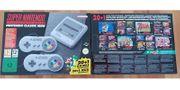 NEU SNES Super Nintendo Classic