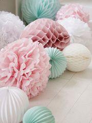 PomPom Papierball Tissue Papier ball