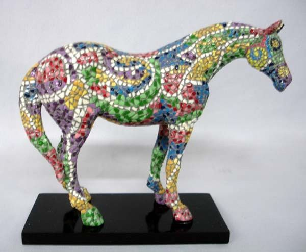 Trail Of Painted Ponies Mosaic