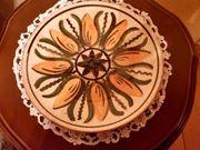 Neuw DDR-Keramikteller handbemalt aus d