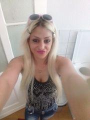 Nettes seksy blondine