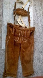 Trachten-Lederhose für
