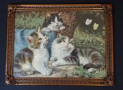 Altes Katzen-Bild