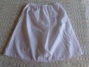 Mädchenbekleidung Unterrock, weiß,