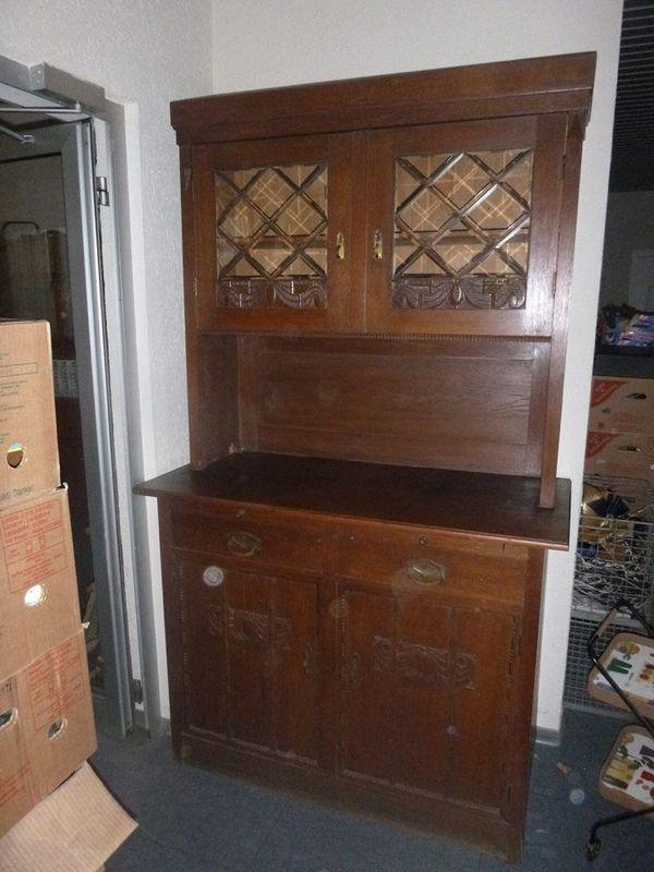 Omas altes Küchenbuffet Antik Küchenschrank Buffet in Linden ...