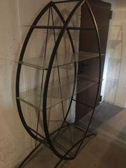 Design Regal Glasregal Büroregal Bücherregal