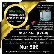 Dendrobaten-Terrarium 50x50x50cm LxTxH Froschterrarium