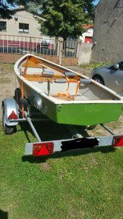 Angelboot Ruderboot mit