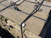 Alte Bodenplatten aus Sandstein Naturstein