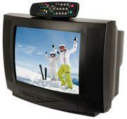 Suche Flachbild und Röhrenfernsehr