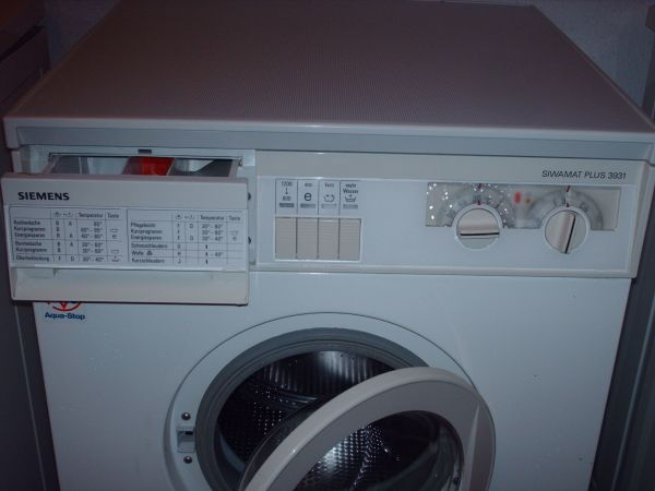 Siemens waschmaschine mit 1 jahr gewährleistung in oberreichenbach