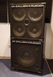 2 Bassboxen Gallien-