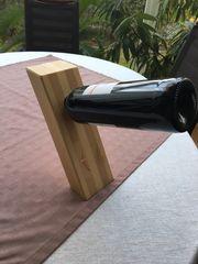 Weinflaschen Ständer aus Holz