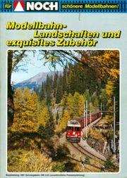 NOCH-Katalog für den Modellbahn-Freund