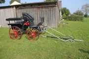 Pferdekutsche Wagonette Ein-