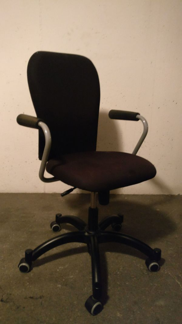 Ikea Burostuhl Schreibtischsessel Mit Armlehnen In Bludenz