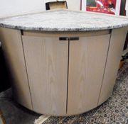 Eckkommode mit Marmorplatte