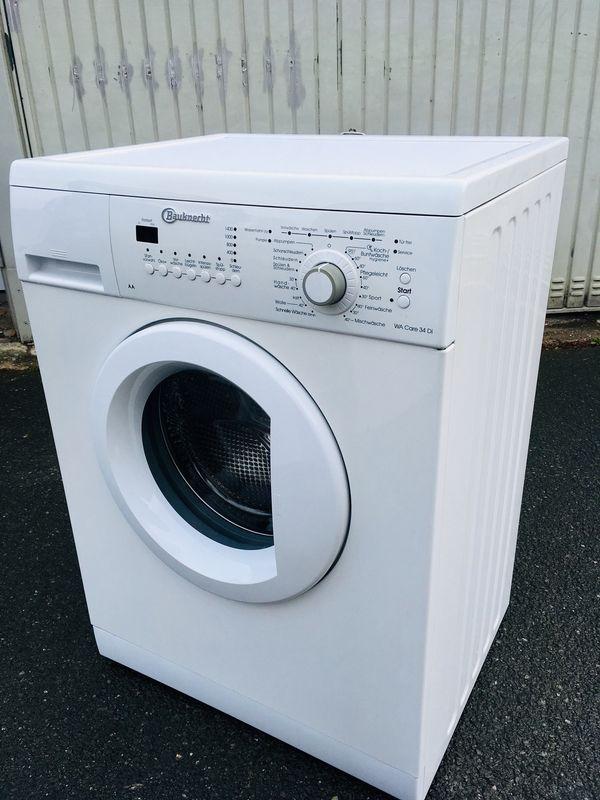 Eine wenig benutzte Waschmaschine von Bauknecht in Nürnberg ...