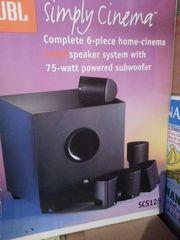 Soundanlage JBL mit Subwoofer und