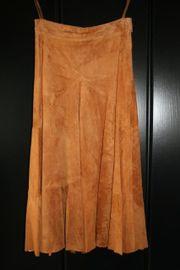 Damen-Lederrock von Avenida Größe 40